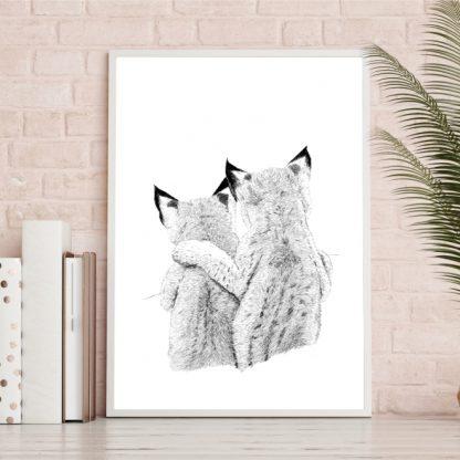Plakater med dyr - Losunger