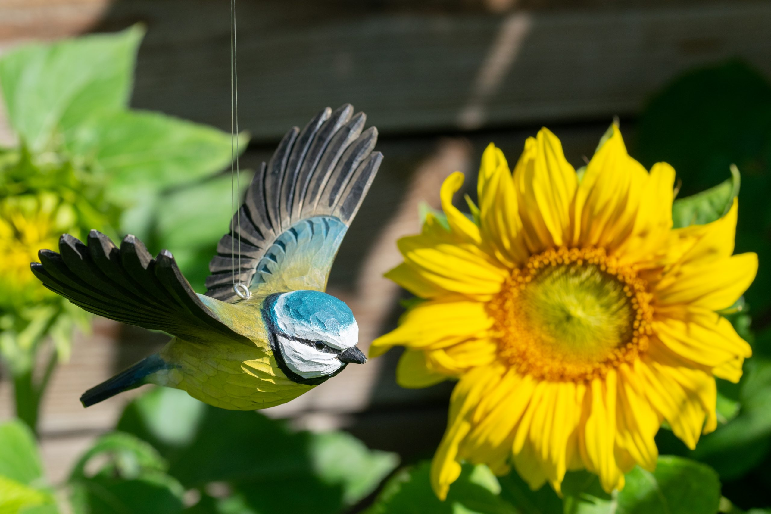 Wildlife Garden DecoBird - flyvende blåmejse